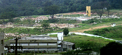 The remains of the FEBEM youth detention complex Imigrantes