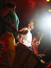 Banda AfroReggae no SESC Santo André