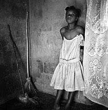10 year old Josiméne, a restavek girl - Photo by Gigi Cohen